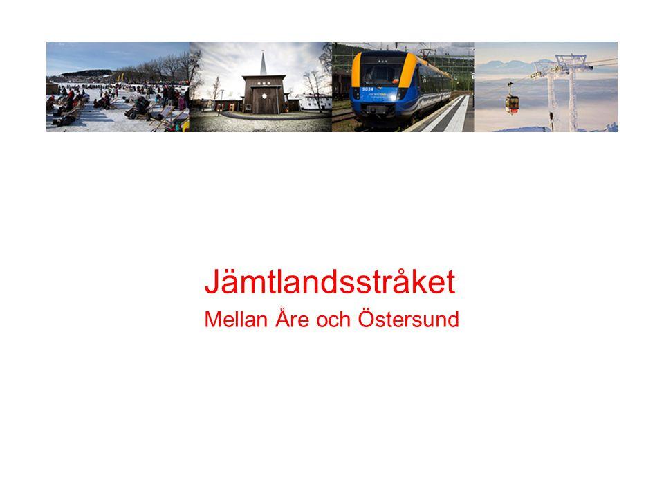 J Jämtlandsstråket Mellan Åre och Östersund