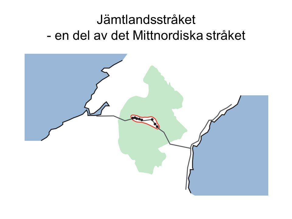 Jämtlandsstråket - en del av det Mittnordiska stråket