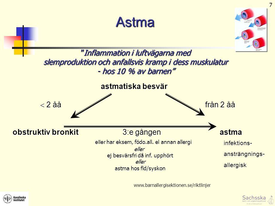 8 Astma – hur går det.