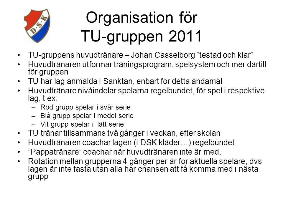 TU-gruppen en viktig fotnot..