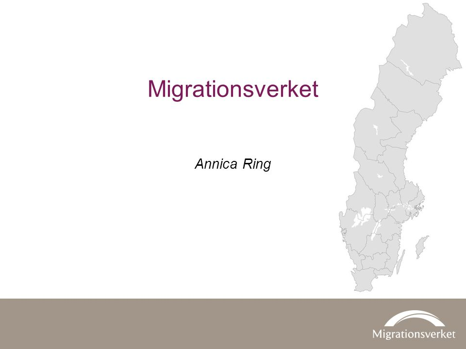 Annica Ring Migrationsverket