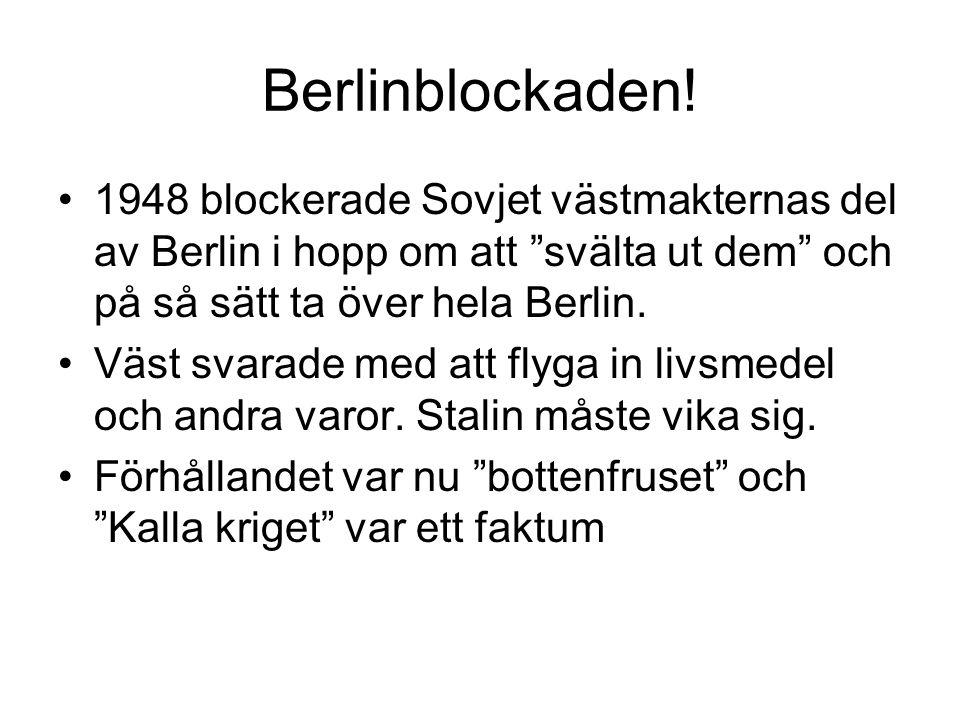 Berlinblockaden.