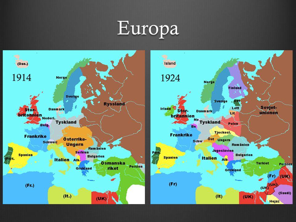 Europa 1914 1924