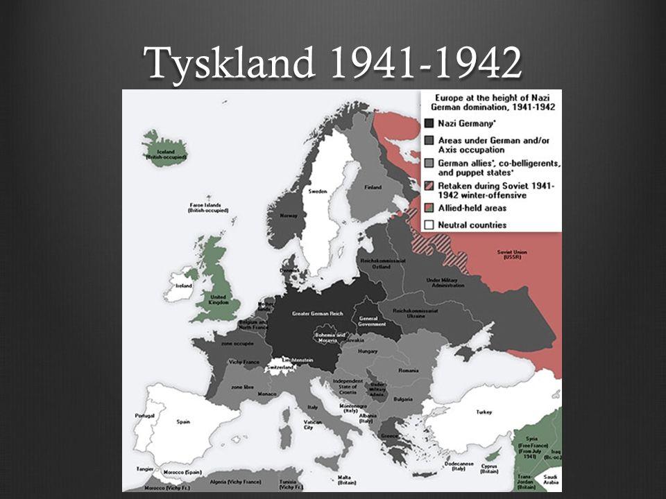 Tyskland 1941-1942