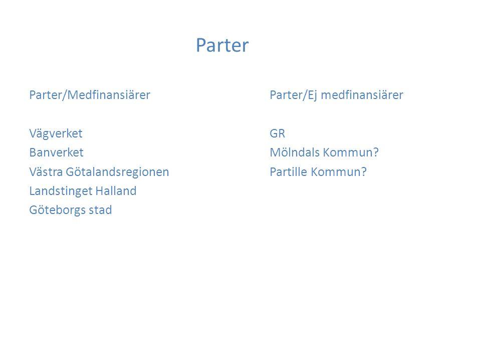 Bakgrund Förhandlingar om: MarieholmstunnelHösten 2008 VästlänkenVåren 2009 Detta avtal Samlad lösning för finansiering och genomförande av för Västsverige viktiga infrastrukturåtgärder