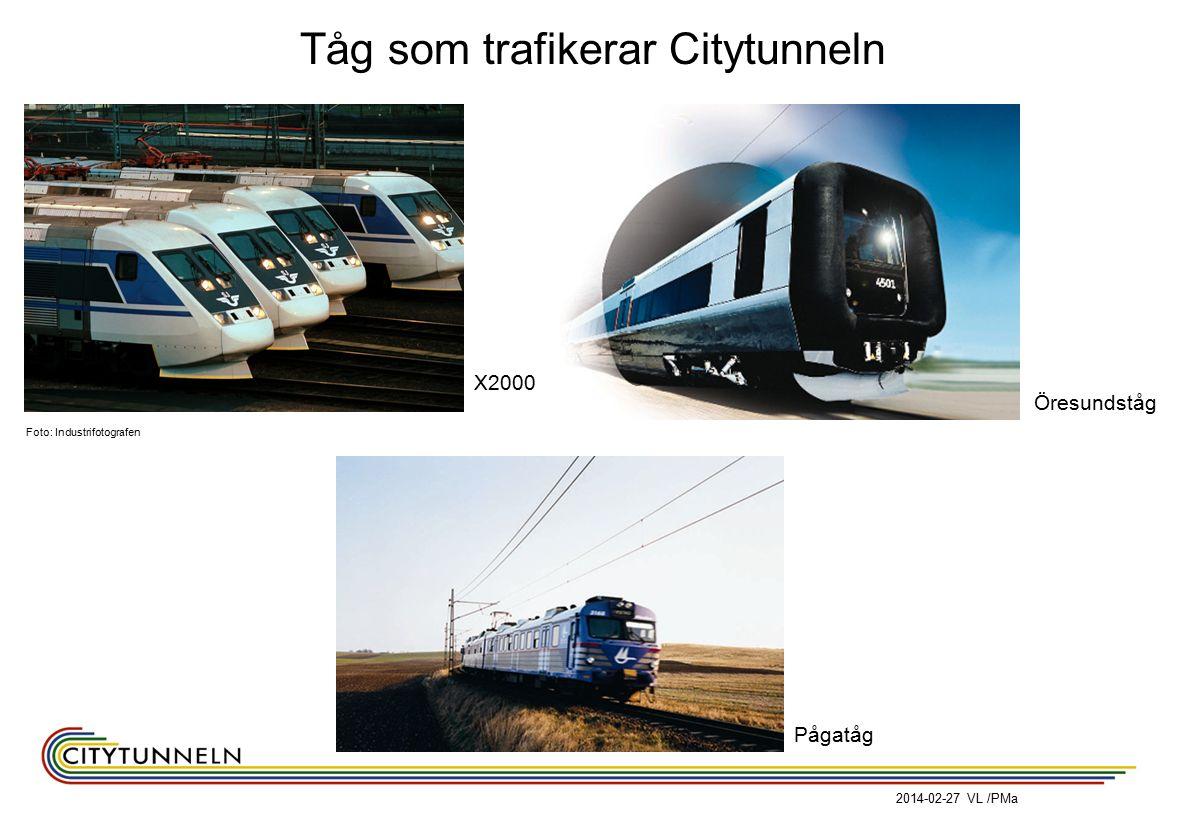 Tåg som trafikerar Citytunneln Foto: Industrifotografen Öresundståg X2000 Pågatåg 2014-02-27 VL /PMa