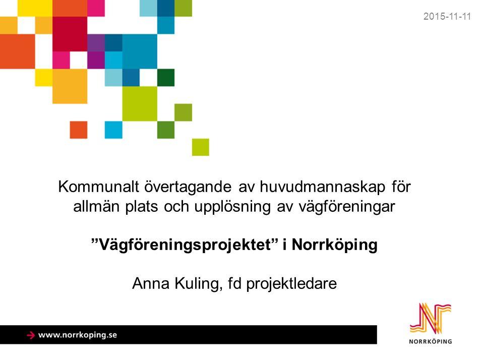 Vägföreningar i Norrköpings kommun