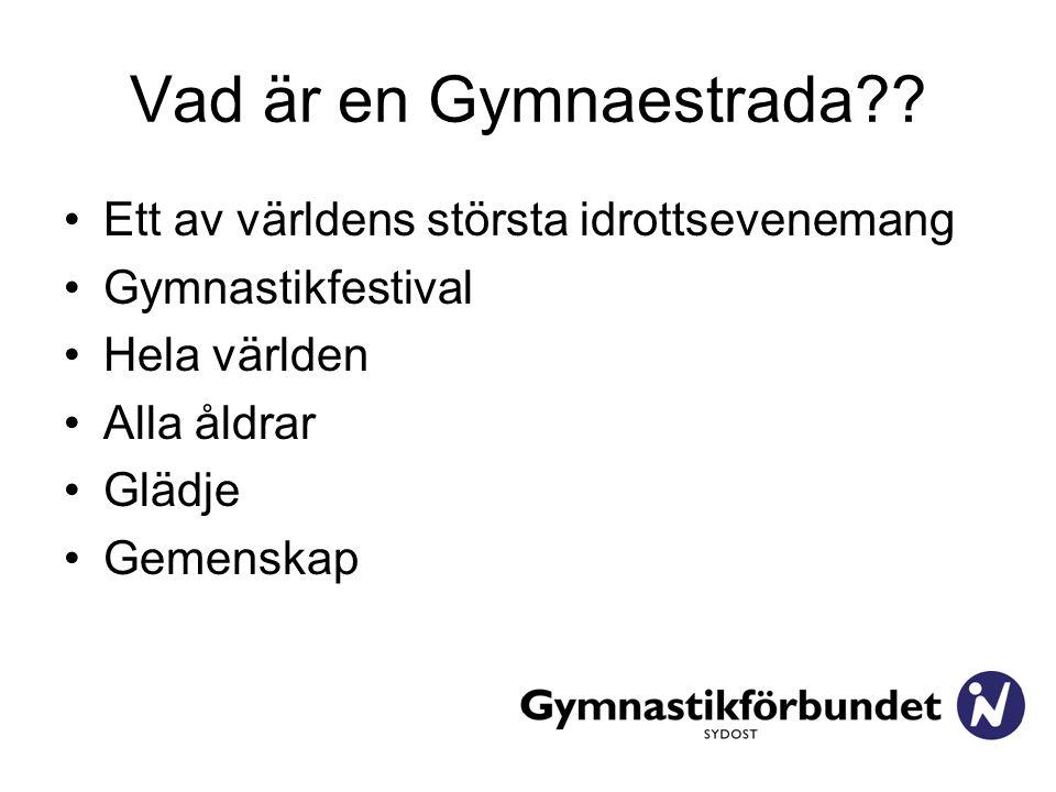 Vad är en Gymnaestrada?.