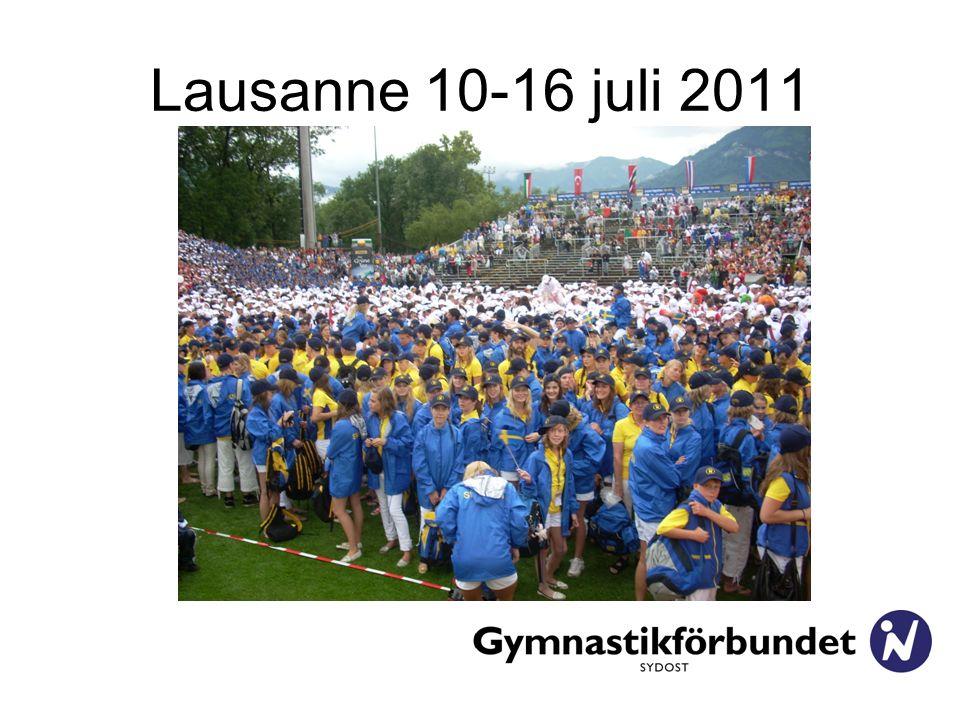 Lausanne 10-16 juli 2011