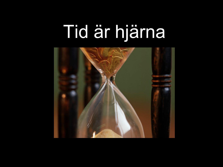 Tid är hjärna