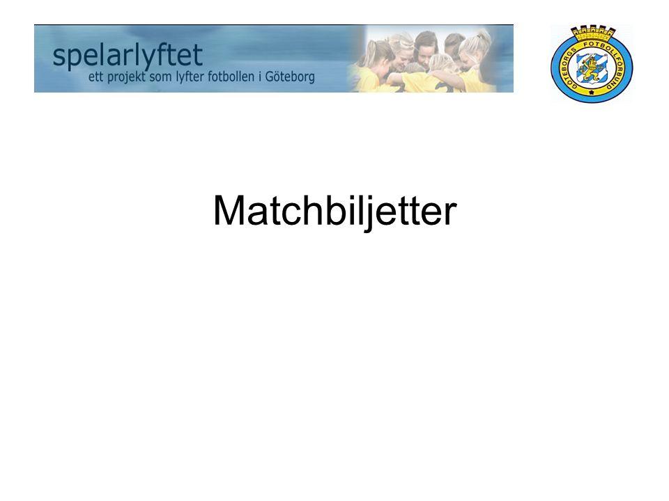 Matchbiljetter