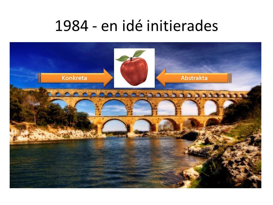 1984 - en idé initierades Konkreta Abstrakta