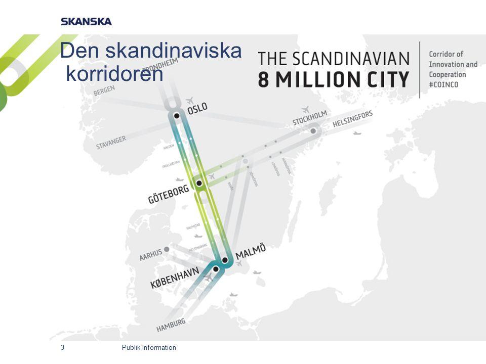 Publik information Den skandinaviska korridoren 3