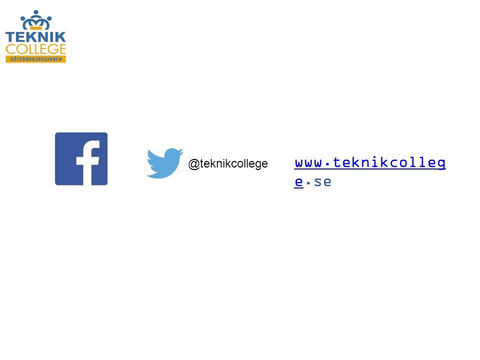 @teknikcollege www.teknikcolleg ewww.teknikcolleg e.se