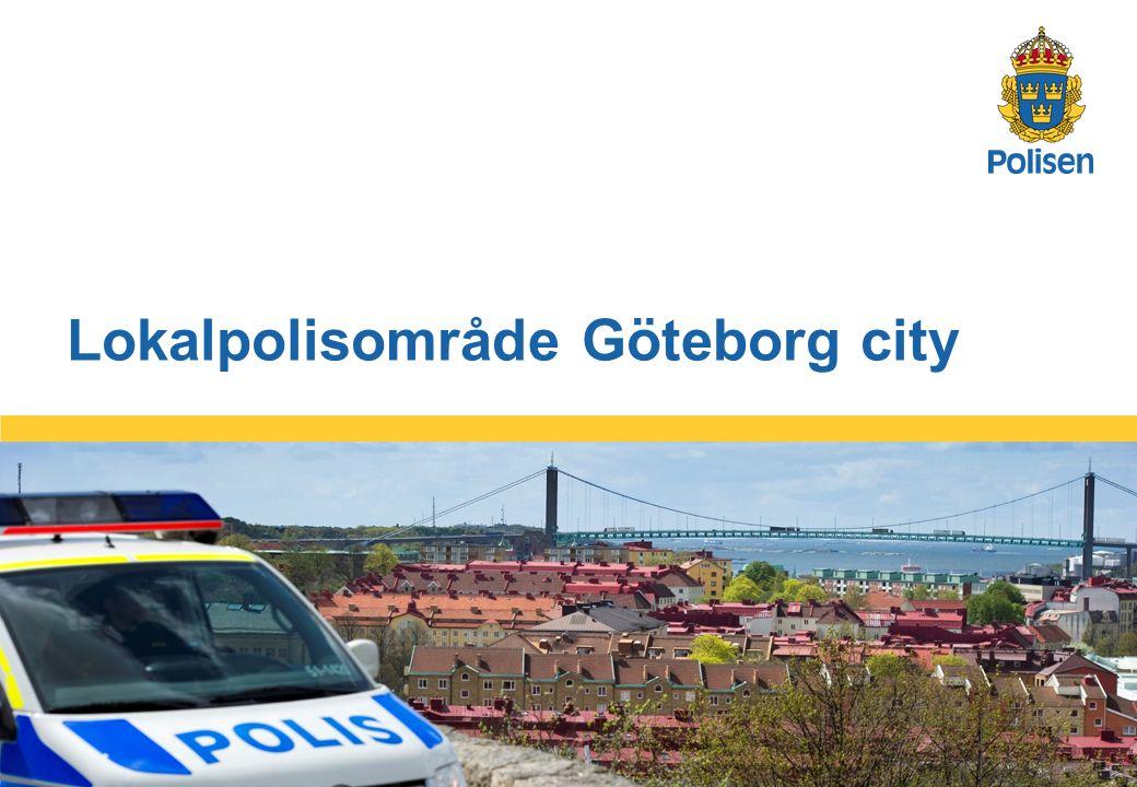 5 Lokalpolisområde Göteborg city