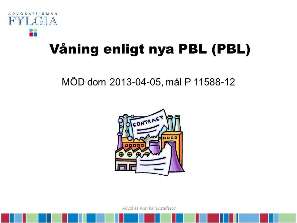 Balkong räknas in i byggarean MÖD dom 2013-06-14, mål P 9168-12 Advokat Annika Gustafsson