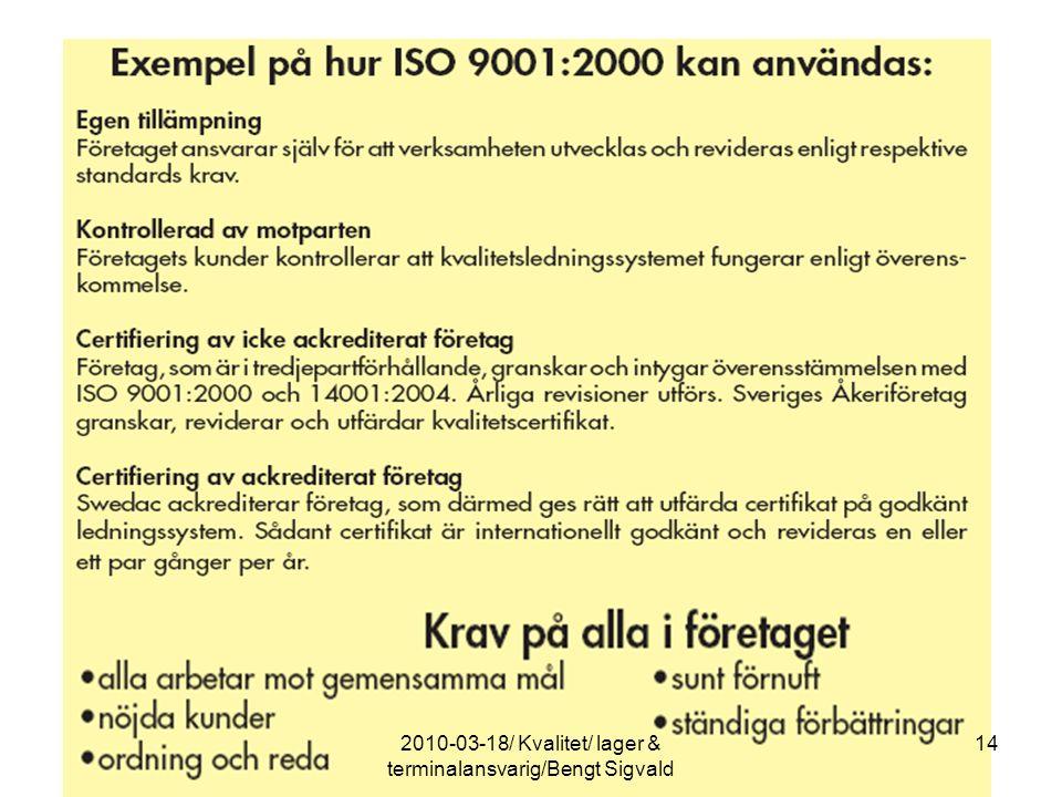 142010-03-18/ Kvalitet/ lager & terminalansvarig/Bengt Sigvald