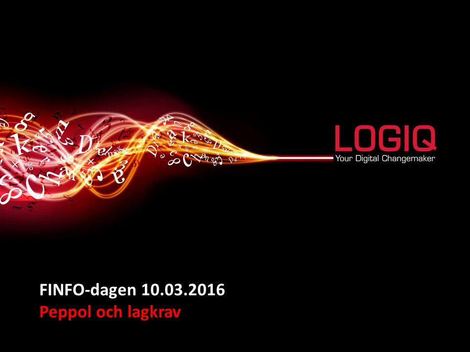 FINFO-dagen 10.03.2016 Peppol och lagkrav