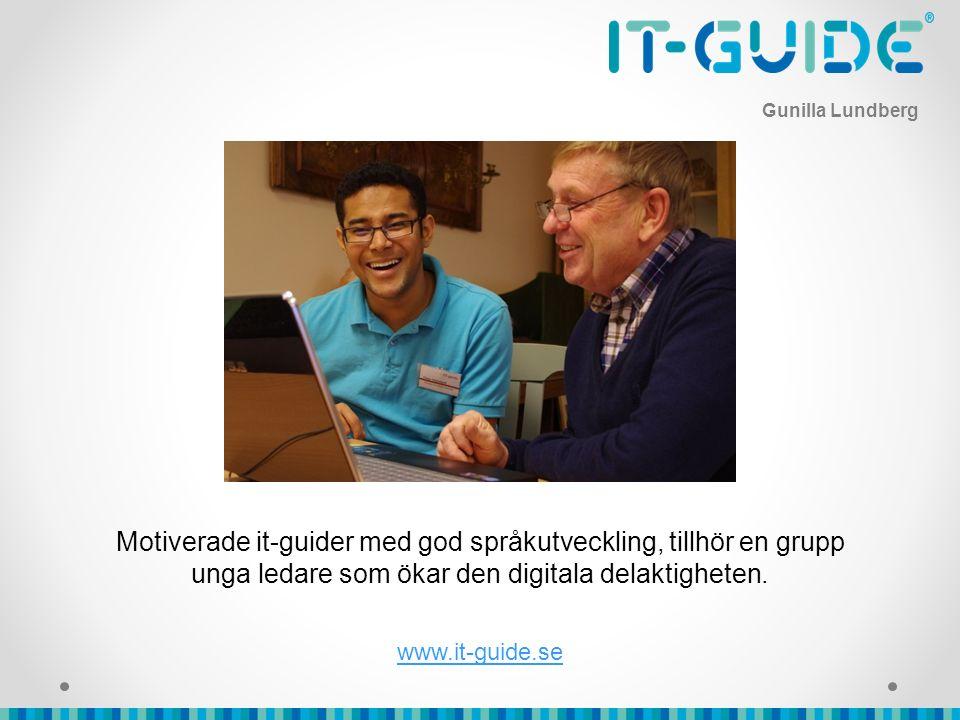 Motiverade it-guider med god språkutveckling, tillhör en grupp unga ledare som ökar den digitala delaktigheten.