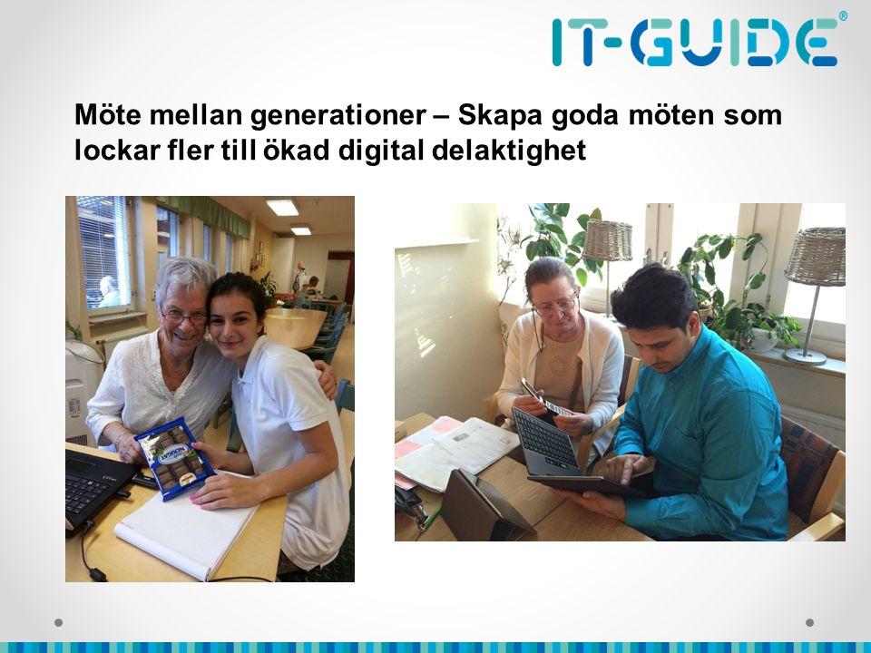 Möte mellan generationer – Skapa goda möten som lockar fler till ökad digital delaktighet