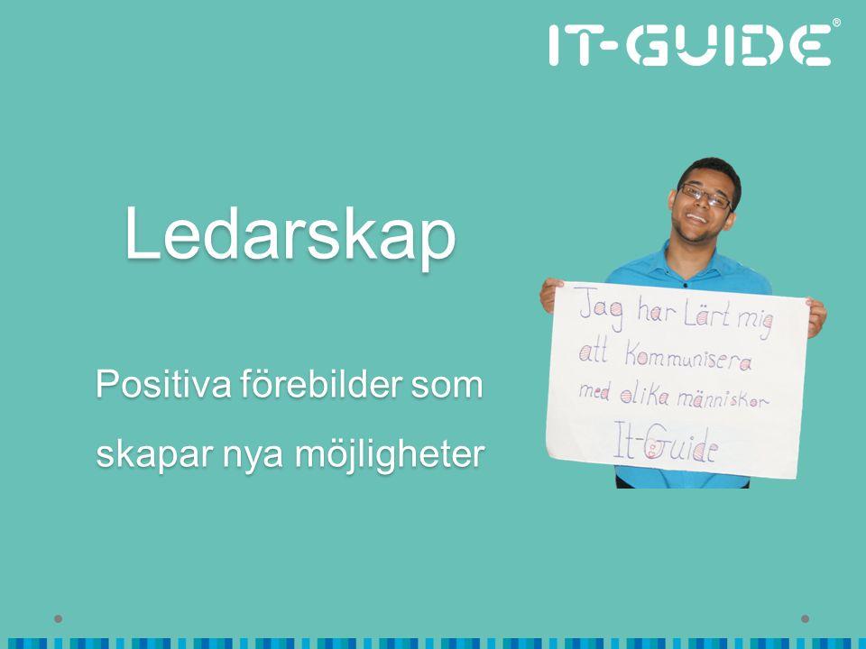 Fortsatt kontakt… Gunilla Lundberg Verksamhetschef gunilla@it-guide.se 076-249 58 01 www.it-guide.se www.facebook.com/itguide.se Twitter @itguide_se Instagram ITGUIDESWEDEN
