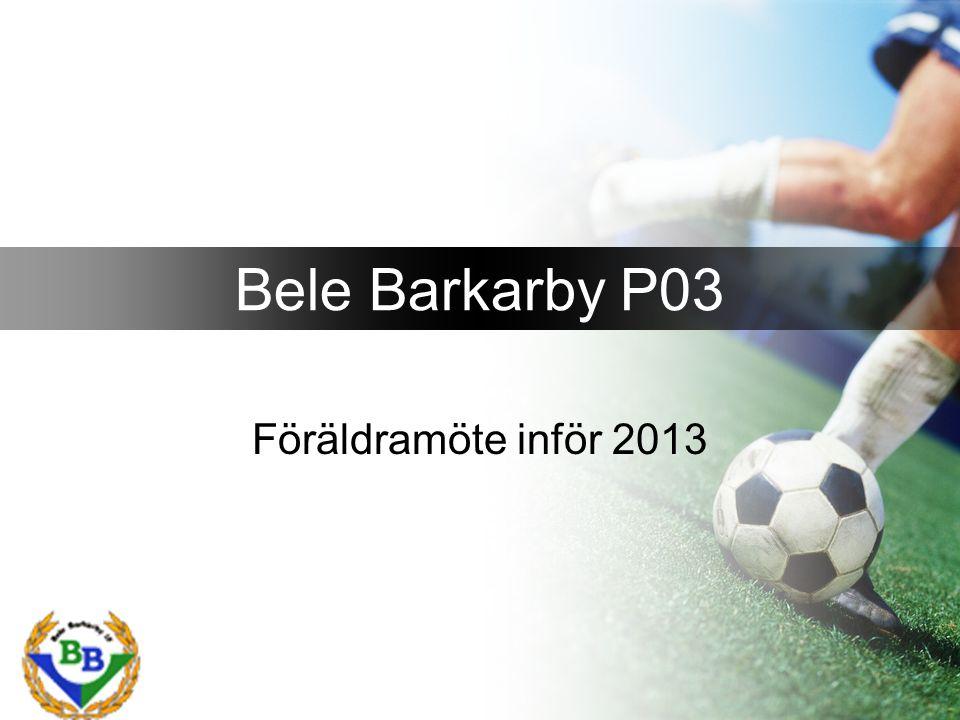 Föräldramöte inför 2013 Bele Barkarby P03