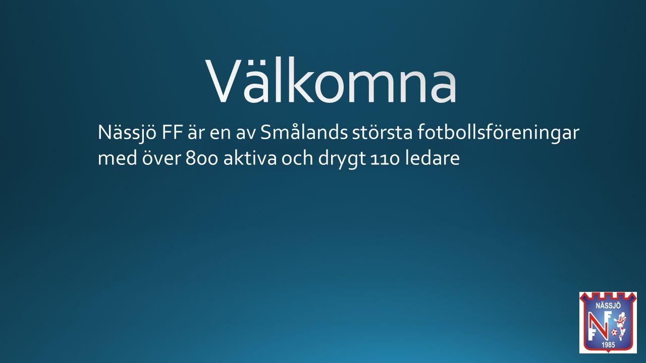 Nässjö FF är en av Smålands största fotbollsföreningar med över 800 aktiva och drygt 110 ledare