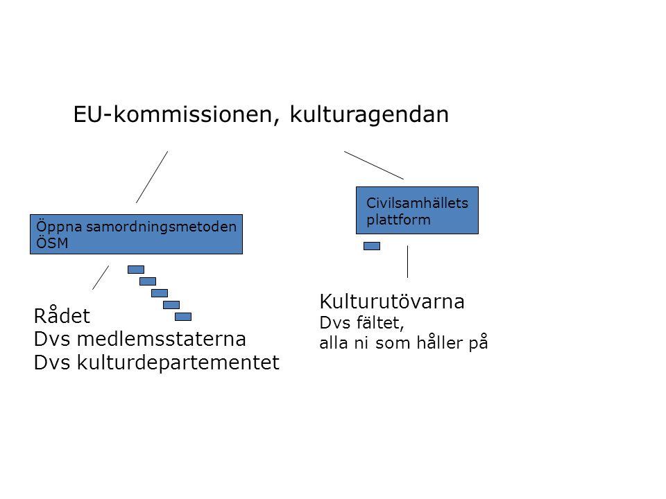 EUROPEISKA SAMARBETSPROJEKT Mindre samarbetsprojekt Stödsumma högst 200 000 euro Minst 3 deltagare från 3 olika länder EU-stöd max.