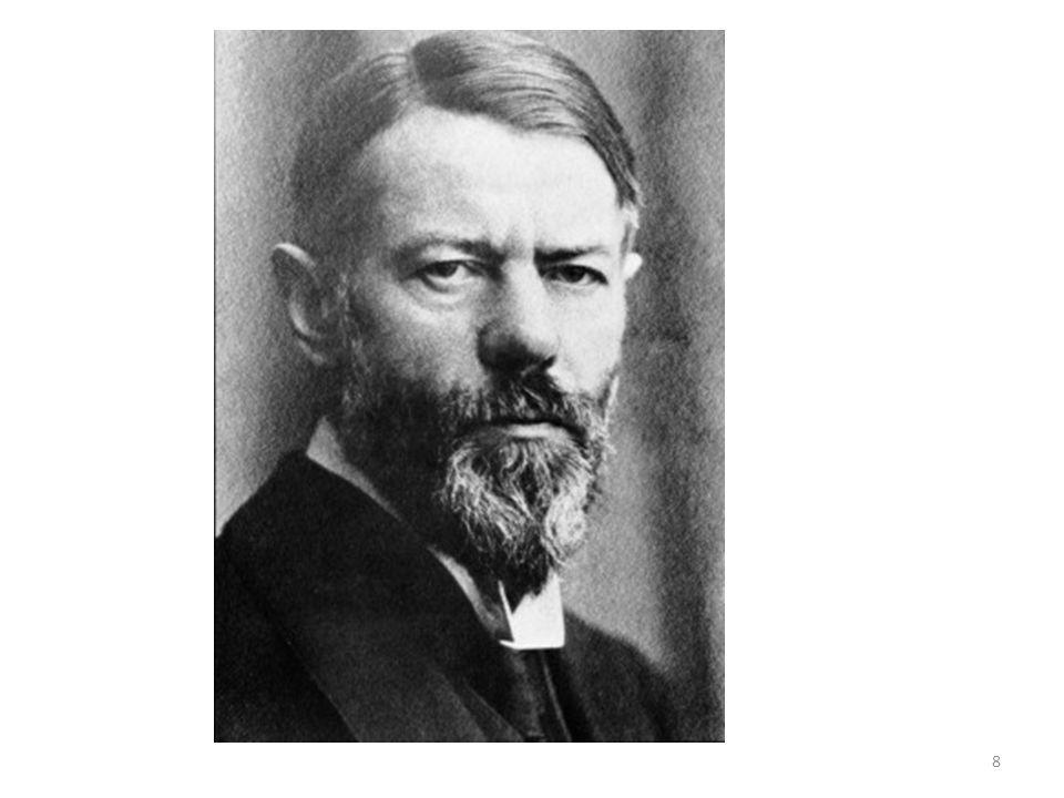 Den protestantiska etiken och kapitalismens anda (1904-1905) Varför blev Europa kapitalistiskt.