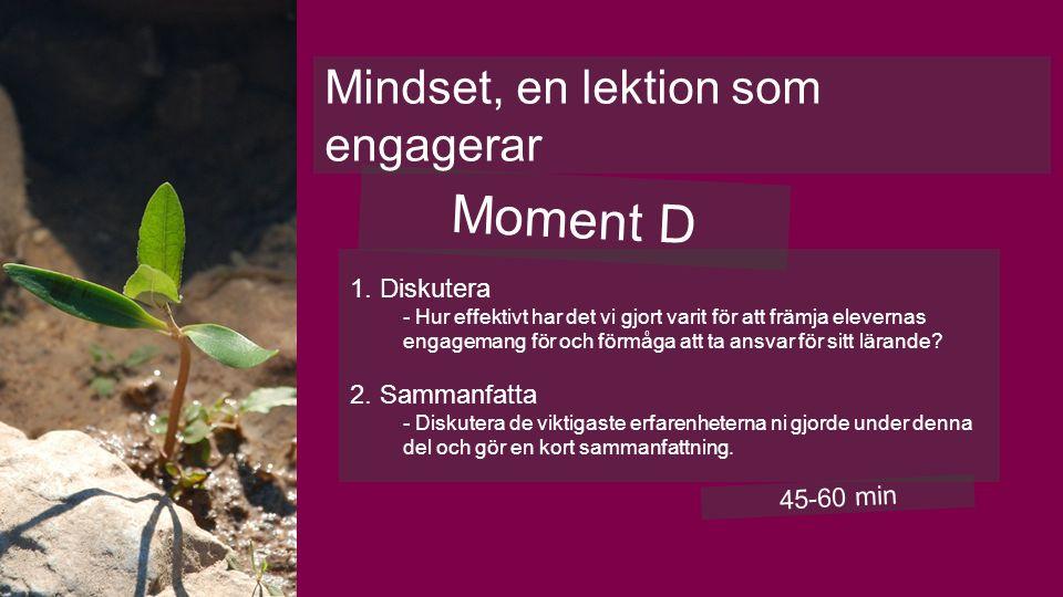 Moment D 1.