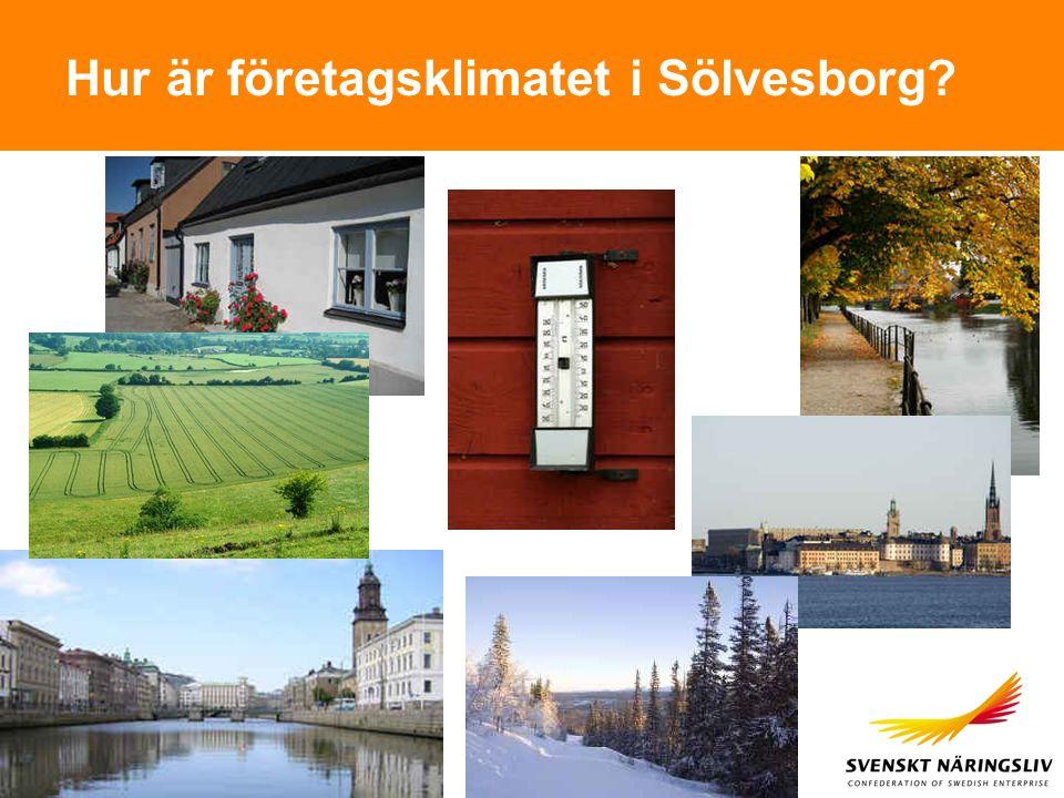 Hur är företagsklimatet i Sölvesborg?