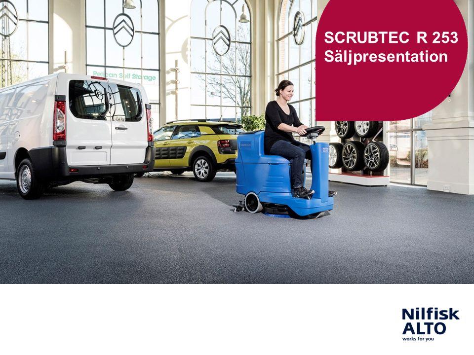 SCRUBTEC R 253 Säljpresentation