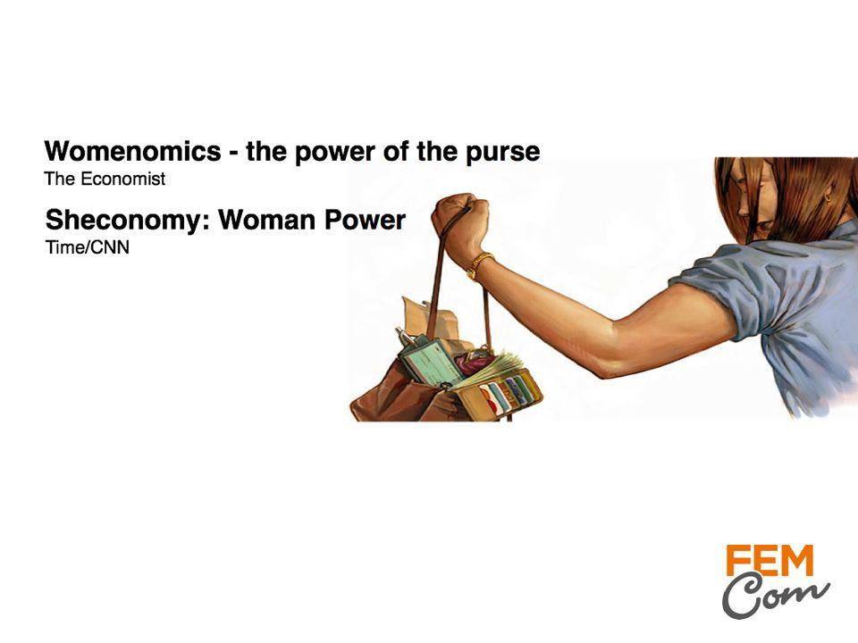 ≈ 80 % av konsumentköpbesluten tas av kvinnor!! Viktigt att komma ihåg – nej är också ett köpbeslut