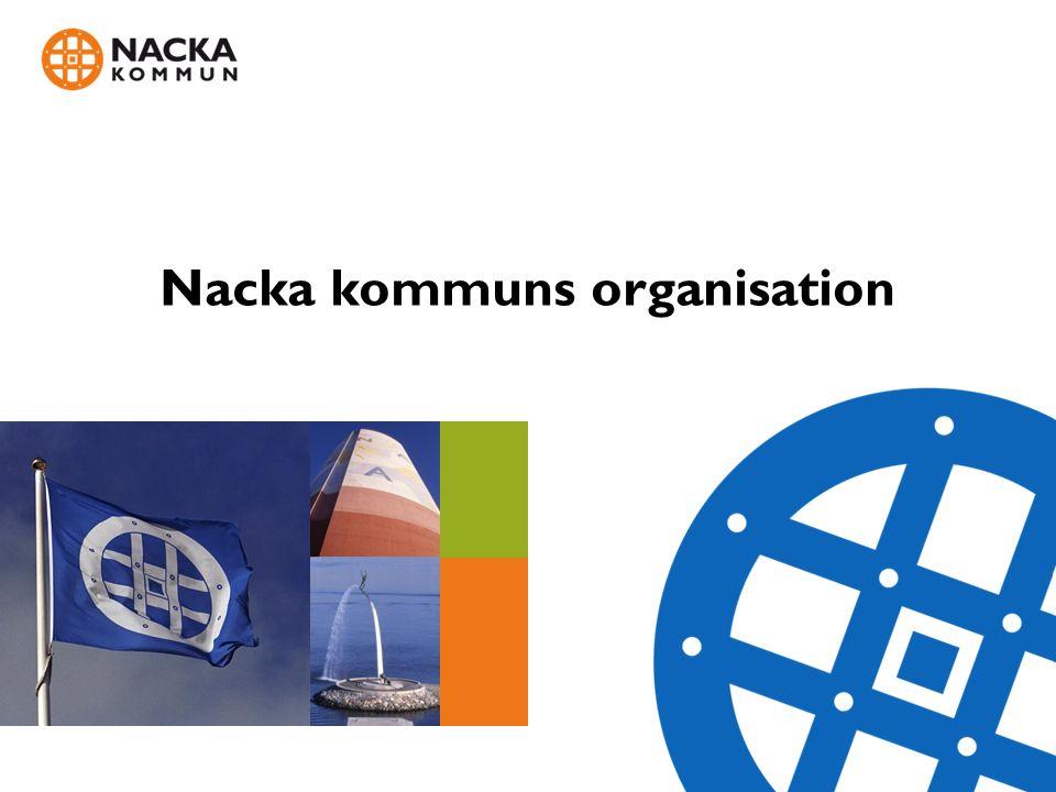 Nacka kommuns organisation