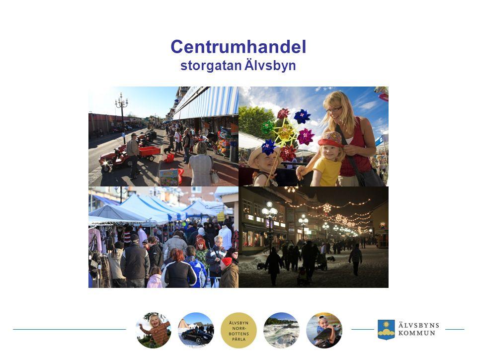 Centrumhandel storgatan Älvsbyn