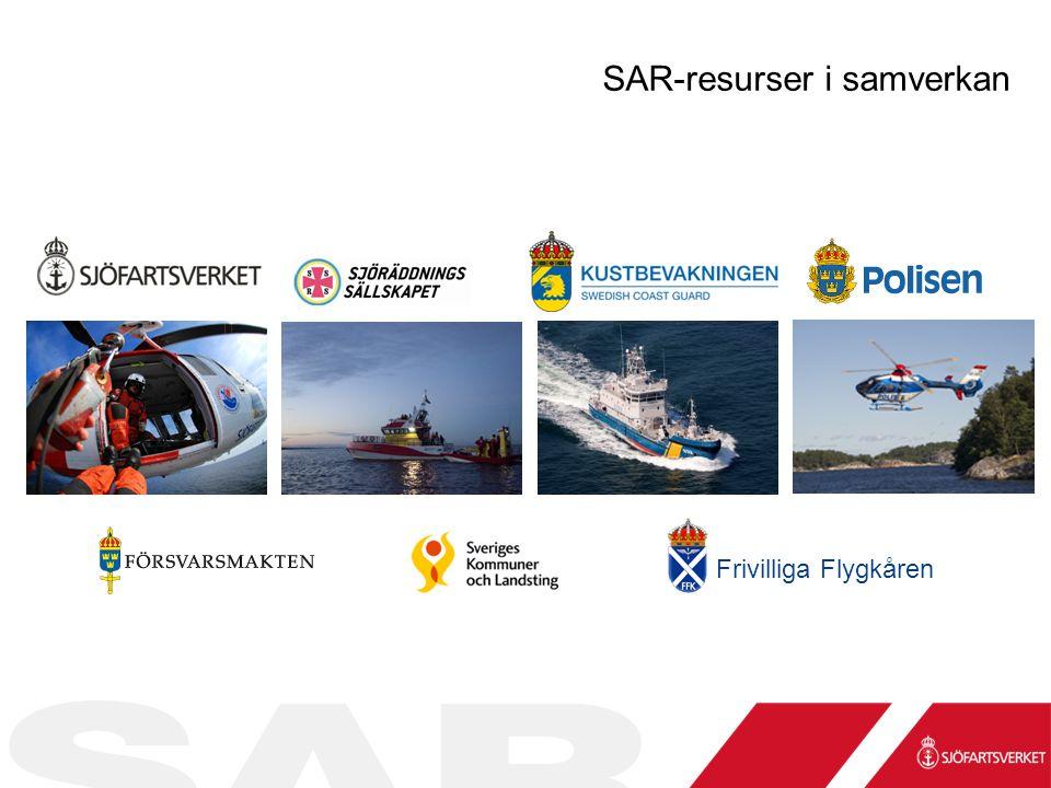 Frivilliga Flygkåren SAR-resurser i samverkan