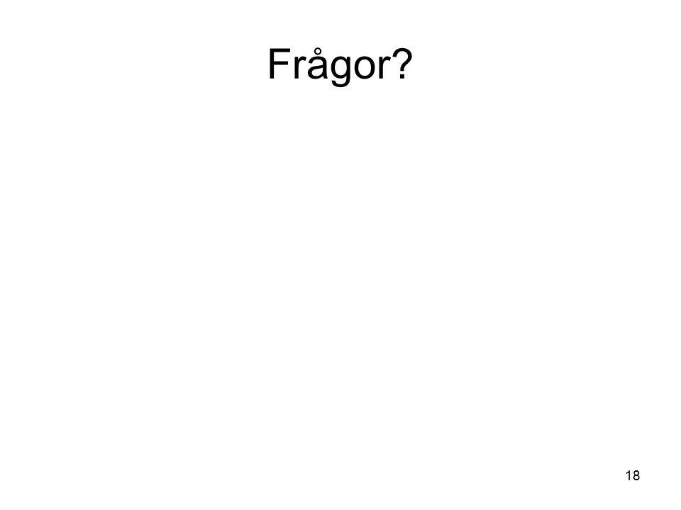 Frågor 18