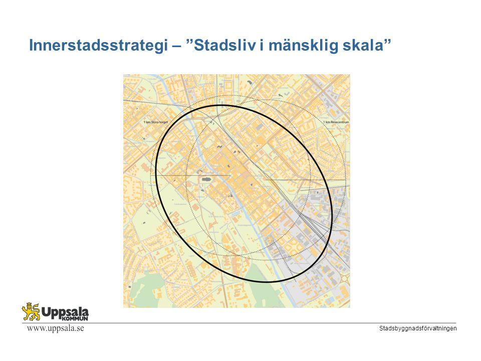 Stadsbyggnadsförvaltningen Innerstadsstrategi – Stadsliv i mänsklig skala