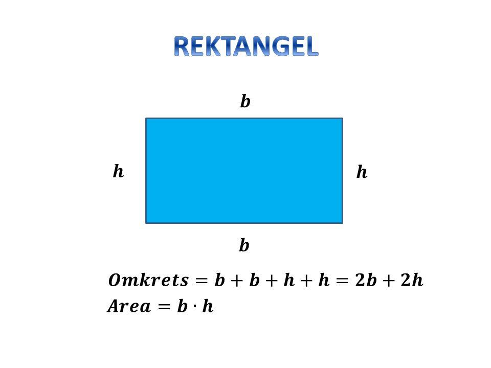 Hur stor är omkretsen och arean på följande parallelltrapets.