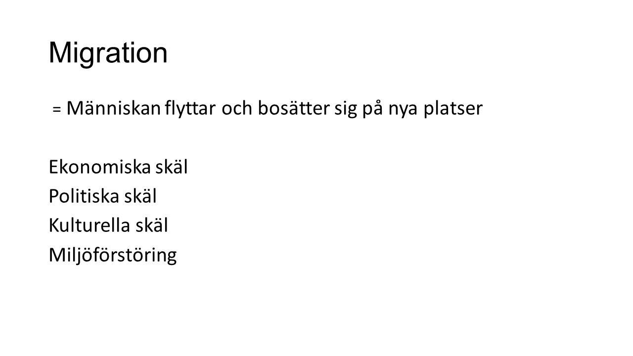 Hur mottogs svensken.