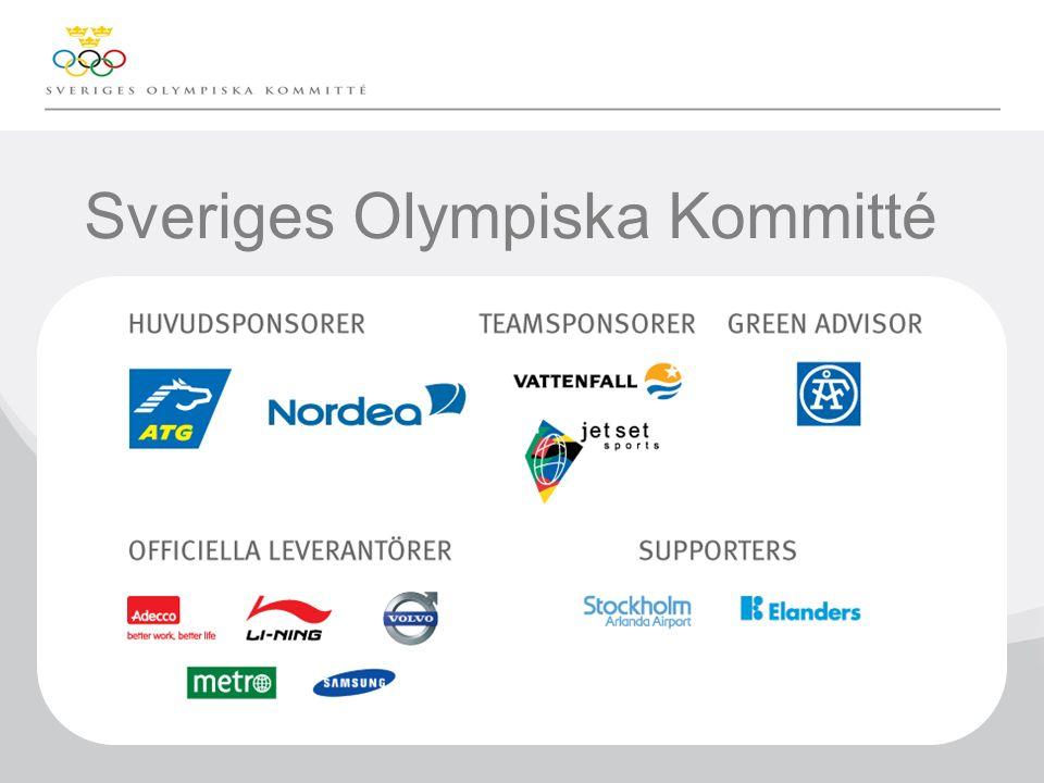 Klicka här för att ändra format på underrubrik i bakgrunden Sveriges Olympiska Kommitté