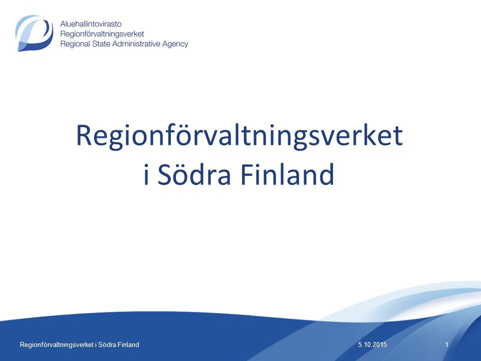 Regionförvaltningsverket i Södra Finland 5.10.20151