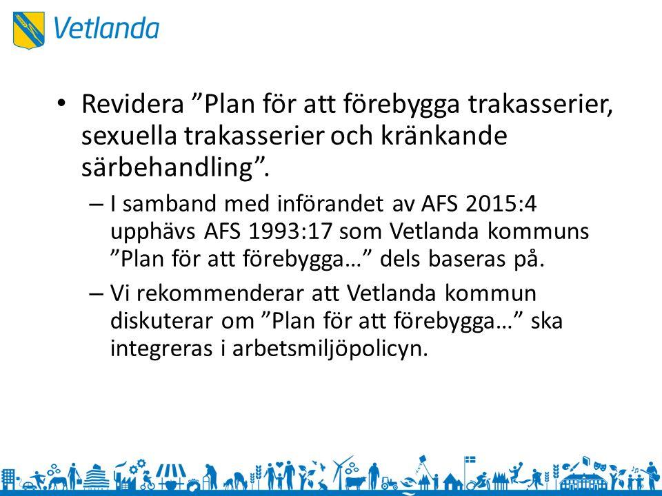 Arbetsbelastning 2015:4 9§ Vilka krav ställs i arbetet och vilka resurser finns det.