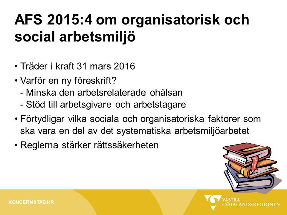 Träder i kraft 31 mars 2016 Varför en ny föreskrift.