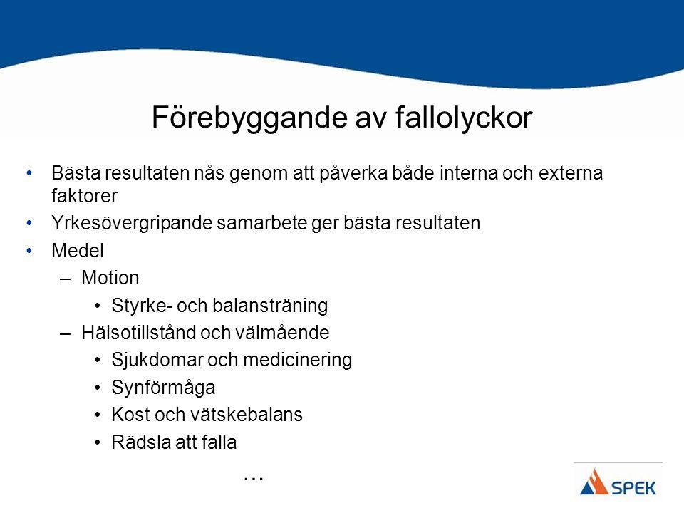 –Åtgärder i boendemiljön Gångvägar/ytor och trappor Möbler Badrum och toalett Kök Belysning Hjälpmedel och skodon