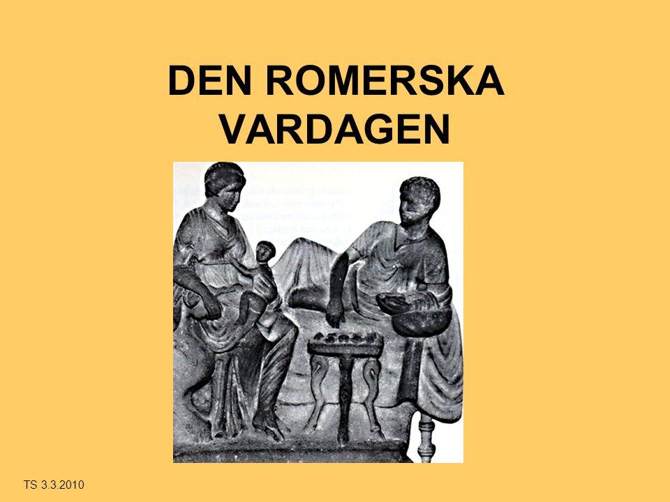 DEN ROMERSKA VARDAGEN TS 3.3.2010