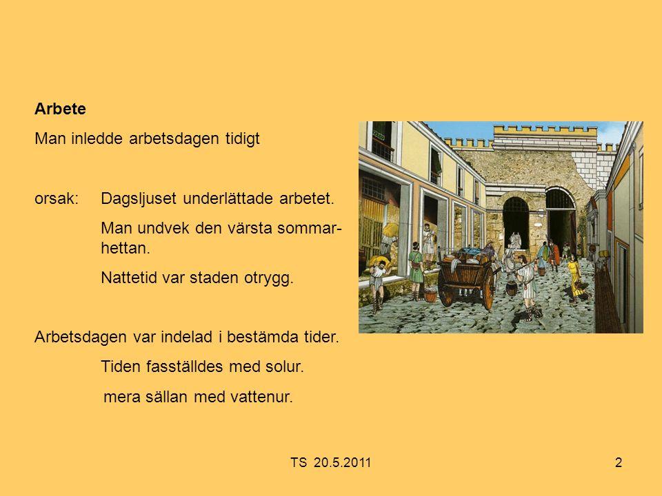 13 Hemmet i hyreshus vanligtvis ett rum I varje romerskt hem fanns det ett litet altare, Lararium, för husgudar.