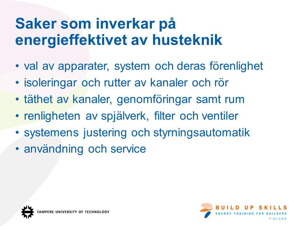 Rutter av installeringar måste avtalas Samarbete mellan hustekniks installatörer är nödvöndigt på byggplatsen.