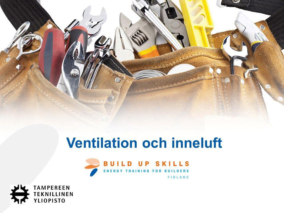 Ventilation och inneluft