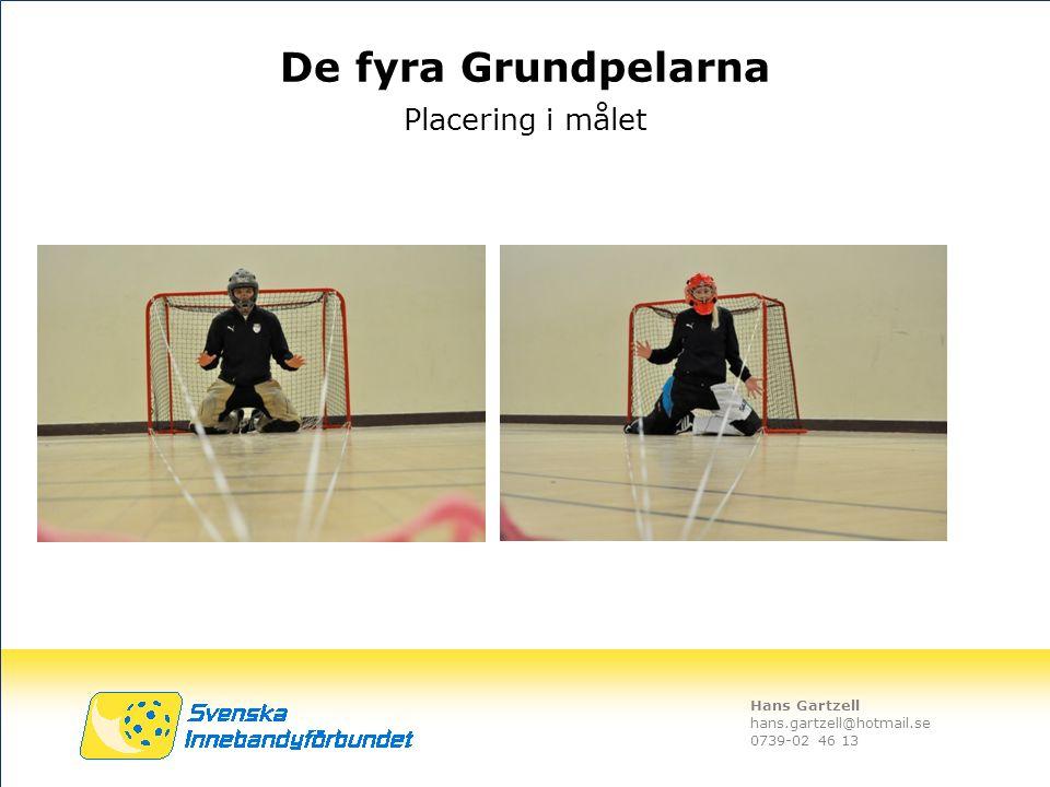 Hans Gartzell hans.gartzell@hotmail.se 0739-02 46 13 Placering i målet De fyra Grundpelarna